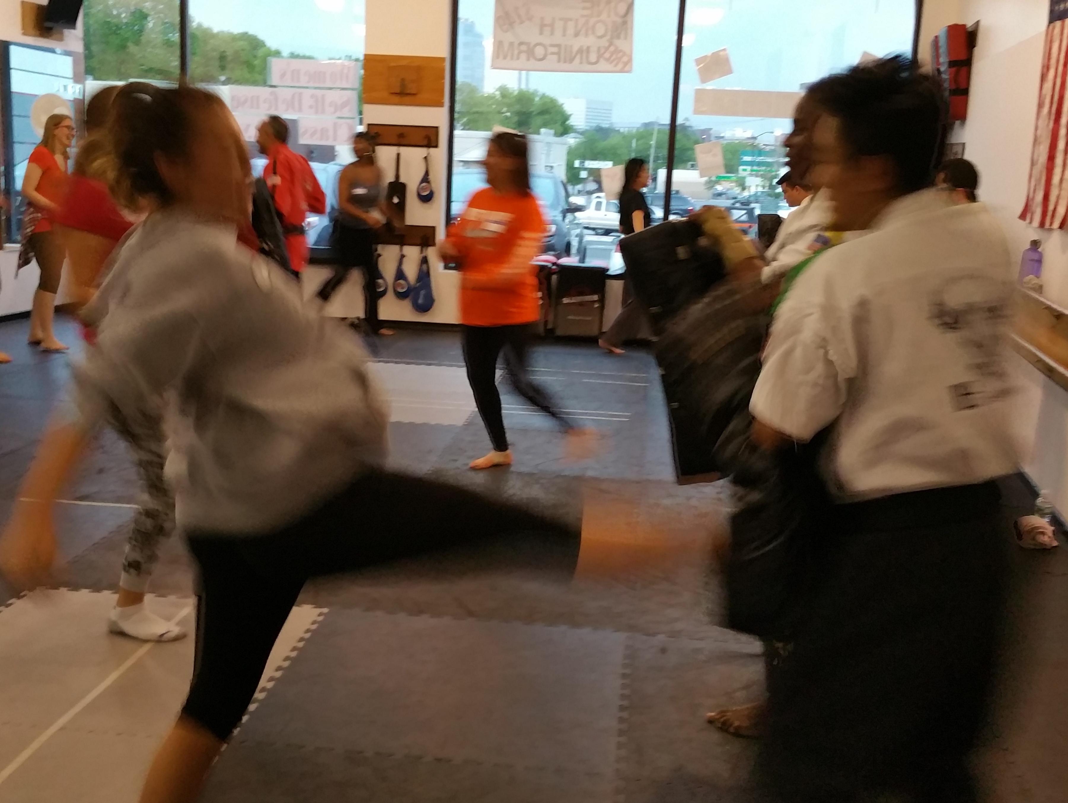 Bushido Karate self defense